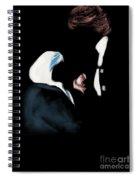 22 - Meeting Of Hands Spiral Notebook