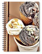 24 Eat Me Now  Spiral Notebook