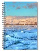 Jokulsarlon - Iceland Spiral Notebook