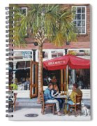 2nd Sunday Lunch On King St. Spiral Notebook