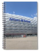 Allianz Arena Munich  Spiral Notebook