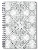 Background Of Geometric Shapes Spiral Notebook