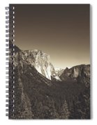Beautiful Yosemite Valley Spiral Notebook