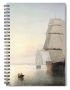 Boston Harbor  Sunset  Spiral Notebook