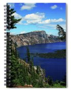 Crater Lake Oregon Spiral Notebook