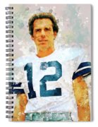 Dallas Cowboys.roger Thomas Staubach. Spiral Notebook