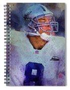Dallas Cowboys.troy Kenneth Aikman Spiral Notebook
