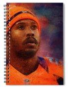Denver Broncos.von Miller. Spiral Notebook