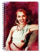 Dorothy Dandridge, Hollywood Legend Spiral Notebook