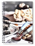 3 Eat Me Now  Spiral Notebook