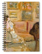 Jos And Lucie Hessel In The Small Salon  Rue De Rivoli  Spiral Notebook