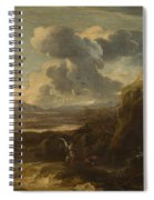 Landscape With Tobias And The Angel  Spiral Notebook