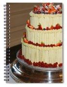 3 Layer Wedding Cake Spiral Notebook