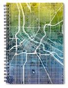 Minneapolis Minnesota City Map Spiral Notebook