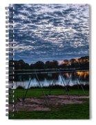 Obear Park Sunset Spiral Notebook