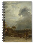 Peasants At Archery  Spiral Notebook