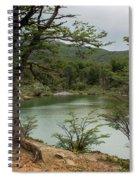 Picturesque Laguna Verde, Tierra Del Fuego National Park, Ushuaia, Argentina Spiral Notebook