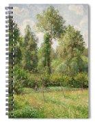Poplars  Eragny  Spiral Notebook