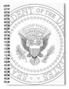 Presedent Seal Spiral Notebook