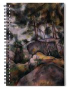 Rocks In The Forest  Spiral Notebook