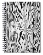 Stained Wood Siding Spiral Notebook