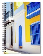 Streets Of San Juan - Puerto Rico Spiral Notebook