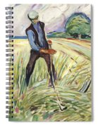 The Haymaker  Spiral Notebook