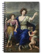 The Marquise De Seignelay And Two Of Her Sons  Spiral Notebook