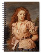 The Martyr Of The Solway Spiral Notebook