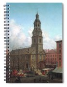The North Dutch Church  Fulton And William Streets  New York  Spiral Notebook
