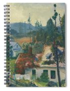 The Red Vine  Matinicus Island  Maine  Spiral Notebook