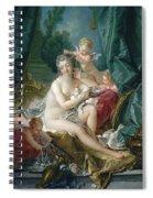 The Toilette Of Venus  Spiral Notebook