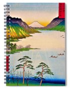 36 Views Of Mt.fuji - Shinshu Suwa Lake Spiral Notebook