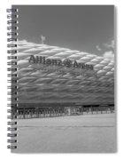 Allianz Arena Munich  Spiral Notebook