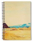 An Extensive Landscape  Spiral Notebook