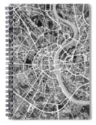 Cologne Germany City Map Spiral Notebook