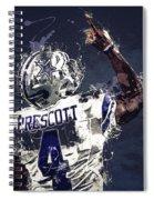 Dallas Cowboys.dak Prescott. Spiral Notebook