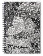 Detail From Sgt. Pepper's Mug Head Spiral Notebook