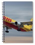 Dhl Airbus A300-f4 Spiral Notebook