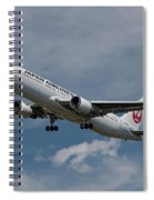Japan Airlines Boeing 767-346 Spiral Notebook