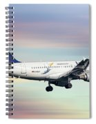 Lufthansa Airbus A319-114 Spiral Notebook