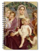 Madonna Of Giverny  Spiral Notebook