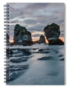 Motukiekie Beach - New Zealand Spiral Notebook