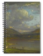 On The Delaware River Spiral Notebook
