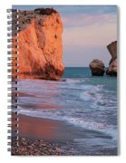 Playing At Aphrodite's Birthplace Spiral Notebook