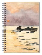 Rowing Home  Spiral Notebook