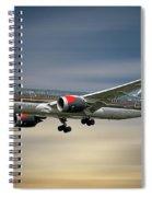 Royal Jordanian Boeing 787-8 Dreamliner Spiral Notebook