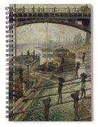 The Coalmen  Spiral Notebook