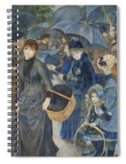 The Umbrellas  Spiral Notebook