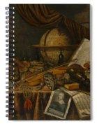 Vanitas Still Life  Spiral Notebook